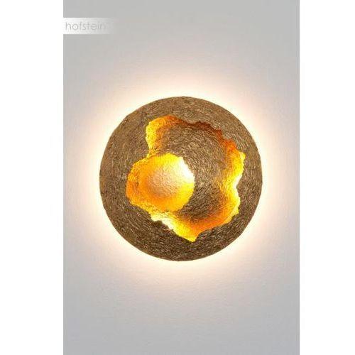 Holländer nidodivespe lampa sufitowa led złoty, 1-punktowy - design - obszar wewnętrzny - nidodivespe - czas dostawy: od 2-3 tygodni (4250151339009)