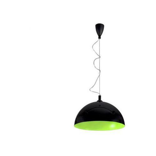 HEMISPHERE BLACK-GREEN FLUO L LAMPA WISZĄCA NOWODVORSKI 5766, kolor czarny,