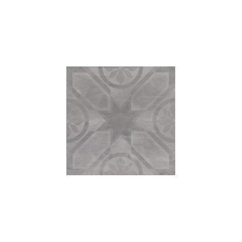 Opoczno Płytka gresowa silent stone rozeta (carpet) szary 45 x 45 (gres) op621-002-1