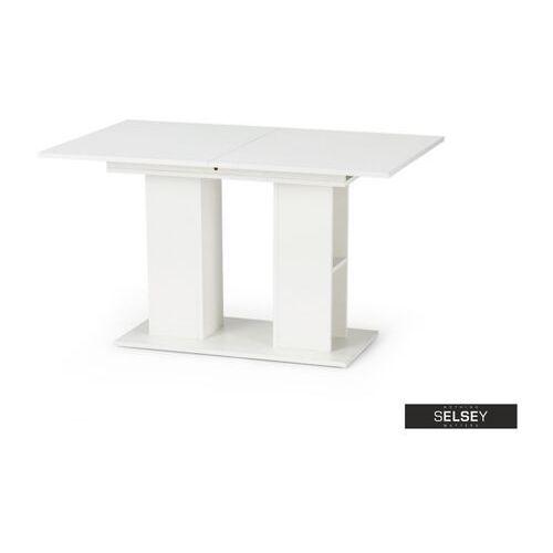 SELSEY Stół rozkładany Obargo 130-170x80 cm biały (5903025288369)