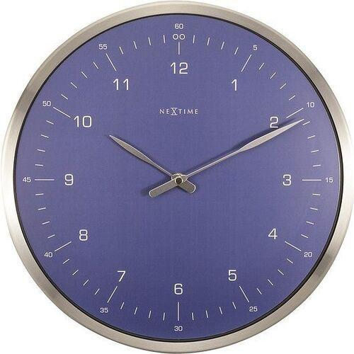 Zegar ścienny 60 Minutes niebieski, kolor niebieski