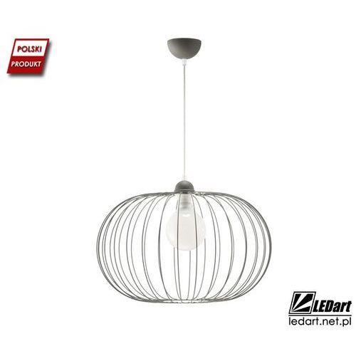 Lampa wisząca LED druciana pojedyncza