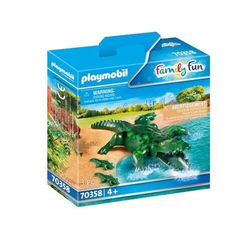 Playmobil Figurki family fun 70358 aligatory