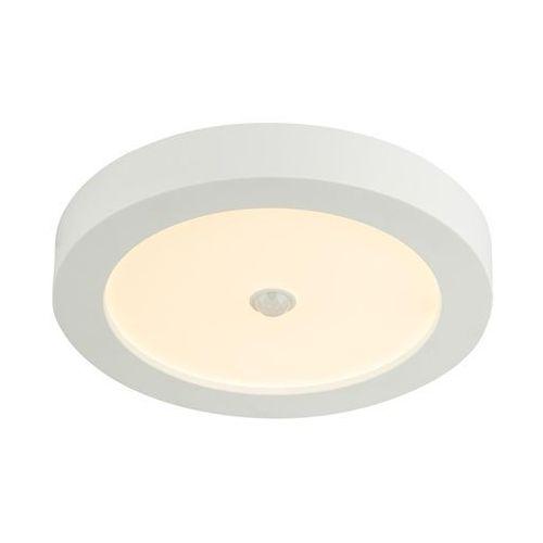 Plafon Globo Paula 41605-18S lampa sufitowa z czujnikiem ruchu 1x18W LED IP44 biały, 41605-18S