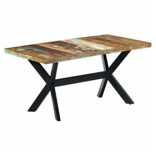 Elior Industrialny stół z drewna odzyskanego – kalis 4x