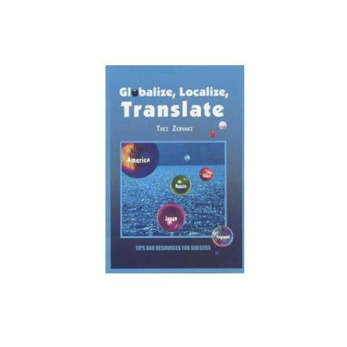 Globalize, Localize, Translate (9780759675674)