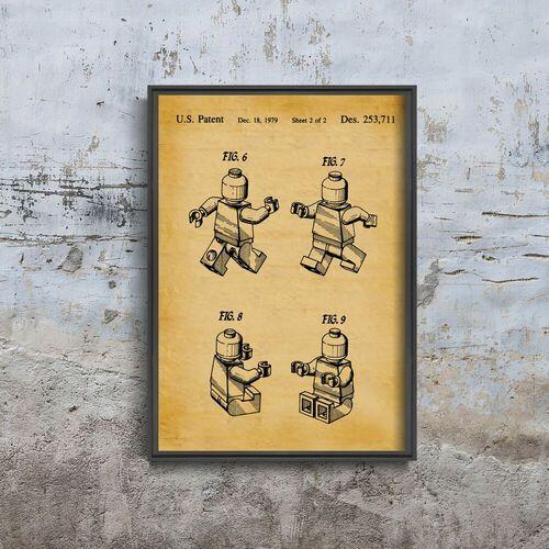 Plakat vintage do salonu plakat vintage do salonu najlepsza kolekcja lego marki Vintageposteria.pl