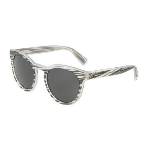 Okulary Słoneczne Dolce & Gabbana DG4285F Asian Fit 305087, kolor żółty