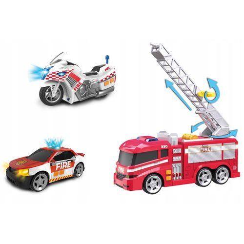 Dumel discovery Flota miejska - pojazdy strażackie 3-pack