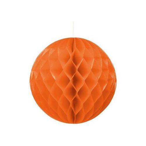 Dekoracja wisząca kula pomarańczowa - 30 cm - 1 szt. marki Go