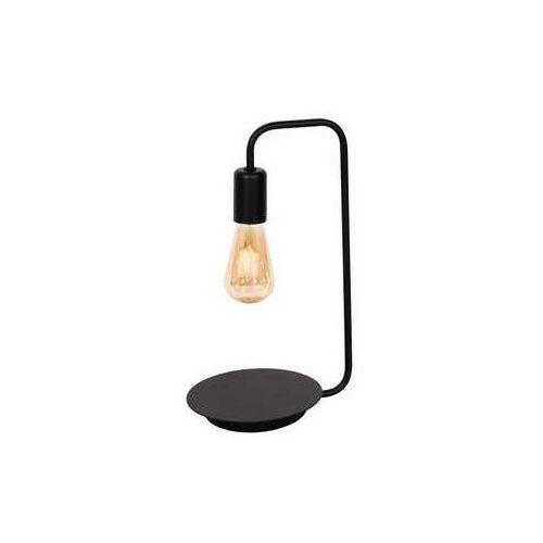 Luminex brenda 840 lampka stołowa gabinetowa 1x60w e27 czarny (5907812628406)