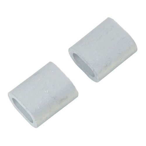 Diall Zacisk linowy aluminiowy podłużny 4 mm 2 szt. (3663602918752)
