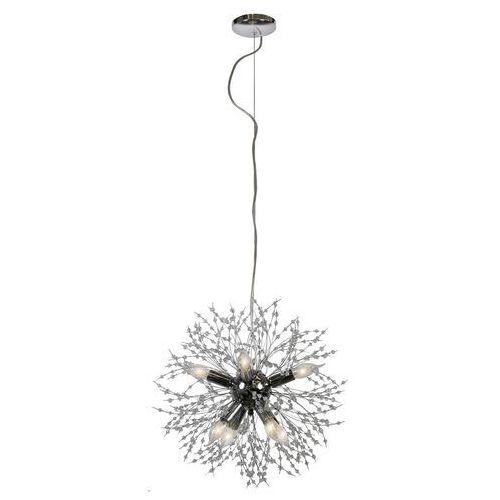 Candellux Capella 31-69719 lampa wisząca zwis 8x40W E14 chrom, kolor Srebrny