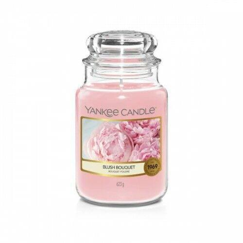 Yankee candle świeca w dużym słoiku blush bouquet (5038581099156)