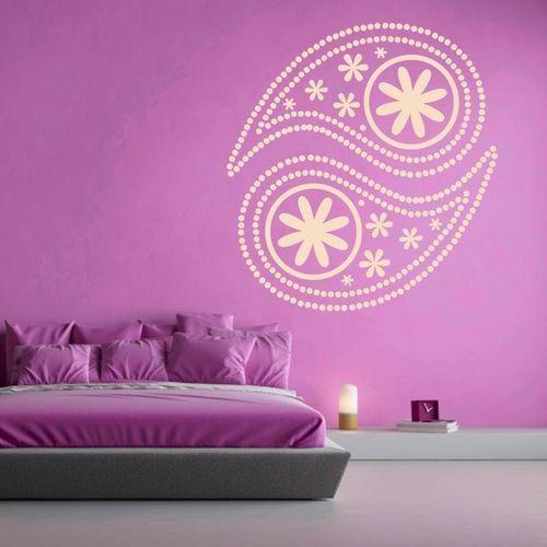 Naklejka na ścianę ornament 2104 marki Wally - piękno dekoracji