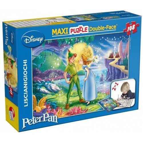 Puzzle dwustronne Maxi 108 el. Piotruś Pan, 1_646241