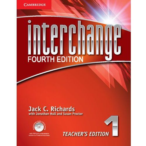 Interchange 4th Edn Lvl 1:: T's. Edn. W Assessment A - Cd / Cd - Rom, oprawa miękka
