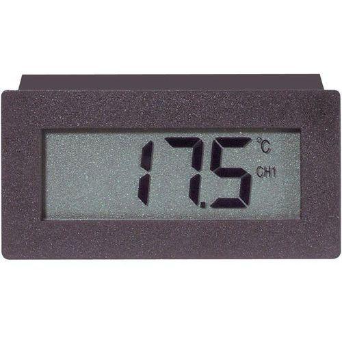 Termometr tablicowy, panelowy VOLTCRAFT TCM 220, Od -30 do +70 °C, Dokładność: 1 °C (4016138523133)