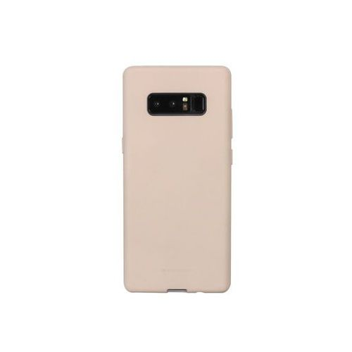 Mercury goospery Samsung galaxy note 8 - etui na telefon soft feeling - piaskowy róż