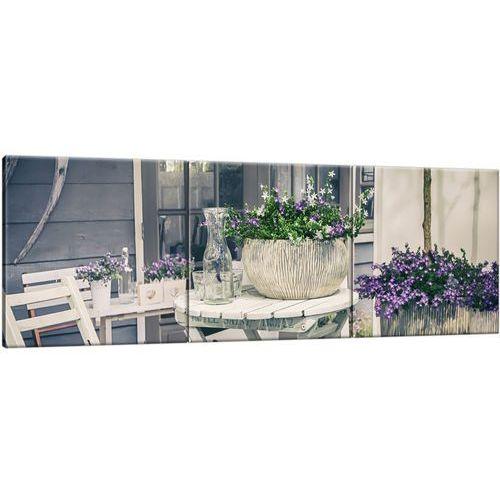 Cenodi Obraz na ścianę relaks wśród kwiatów relaks kwiaty
