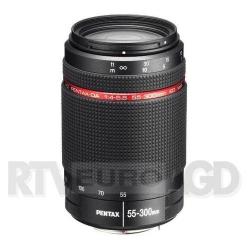 Pentax da hd 55-300 mm f/4-5,8 ed wr