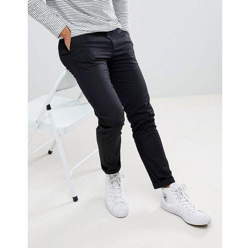 skinny chinos in black - black, Burton menswear