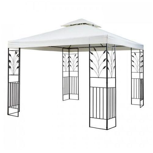 odeon beige pavillon namiot imprezowy/namiot stały 3 x 3 m stal/poliester kolor jasnobeżowy marki Blumfeldt