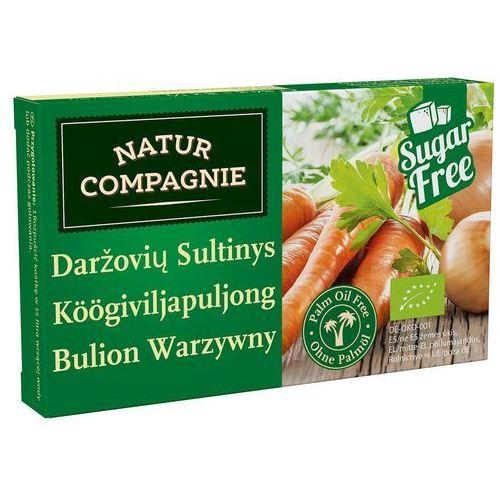 Bulion - kostki warzywne bez dodatku cukrów bio 84 g - natur compgnie marki Natur compagnie (buliony, kostki rosołowe)
