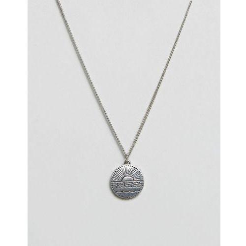Classics 77 disc pendant necklace in antique silver - silver