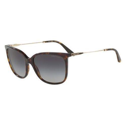 Okulary Słoneczne Giorgio Armani AR8080F Asian Fit 50268G, kolor żółty