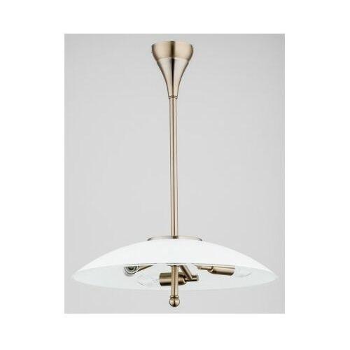 Alfa mena 6206763 lampa wisząca zwis 3x40w e14 złoty (5900458620674)