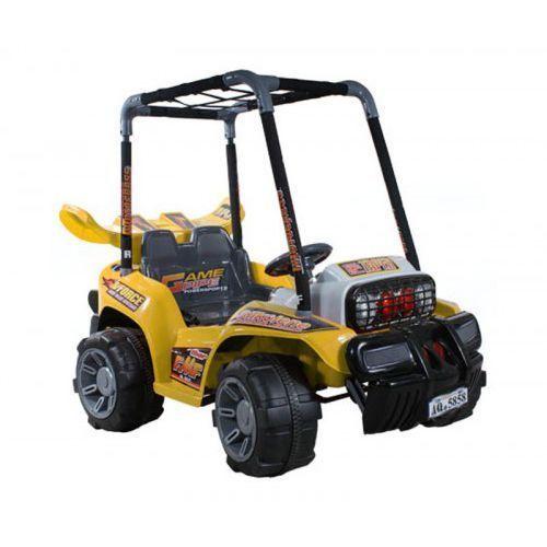 Samochód electric buggy żółty wyprodukowany przez Arti