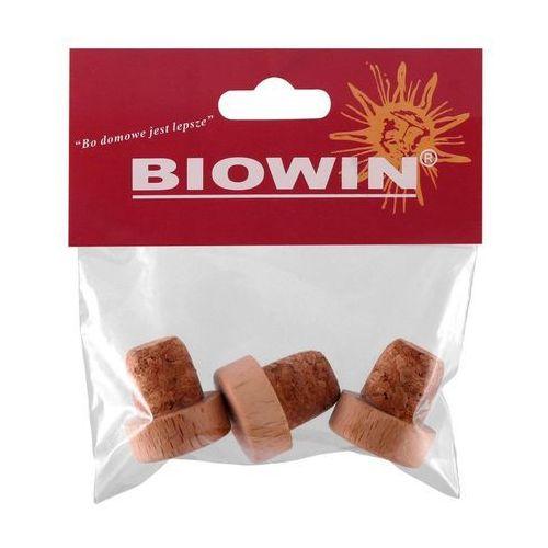 Korek do butelek śr. 19 mm 3 szt. grzybek z korka BIOWIN (5904816931556)