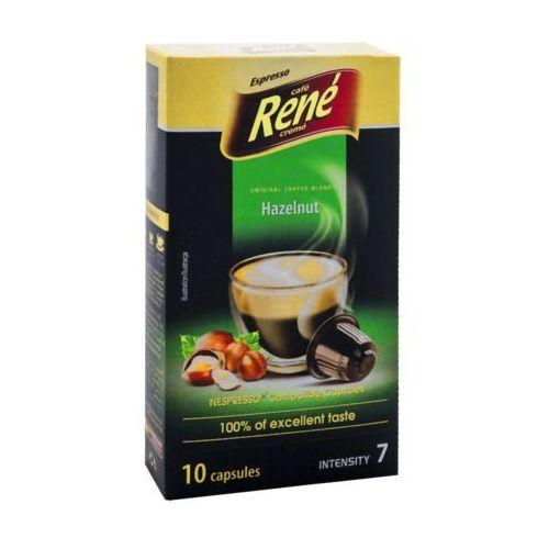 Rene Hazelnut (kawa aromatyzowana orzechowa) kapsułki do Nespresso – 10 kapsułek