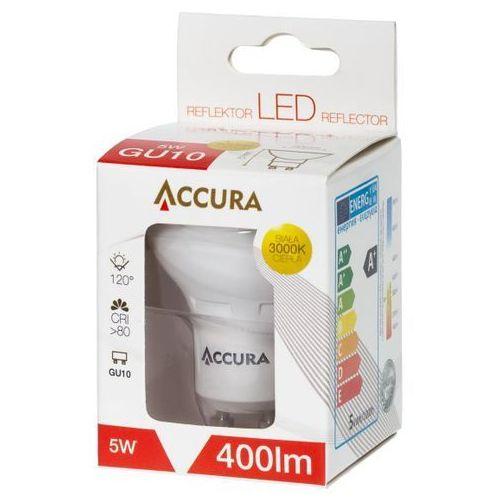 Żarówka LED SMD2835 5W GU10 ciepła ACCURA z kategorii Żarówki LED