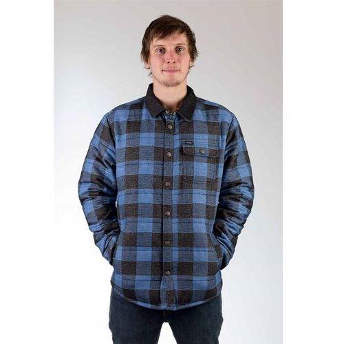 kurtka BRIXTON - Cass Blue Plaid + NAKRČNÍK ZDARMA (0814) rozmiar: XL, 1 rozmiar