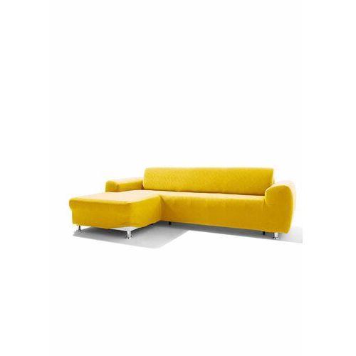Bonprix Pokrowiec na narożnik z wypukłym wzorem żółty