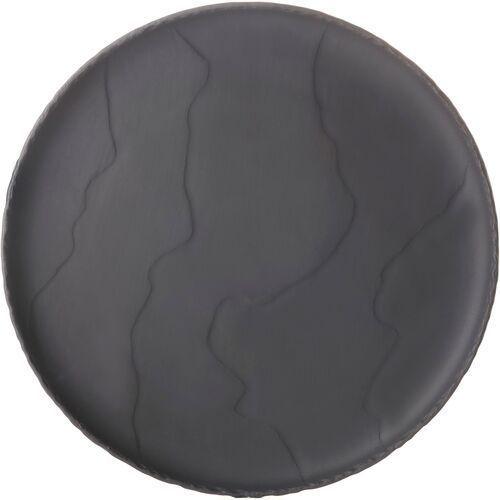 Talerz płaski 21 cm, porcelanowa imitacja czarnego łupka basalt revol (rv-654180-4)