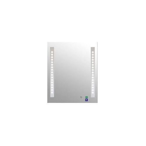 Lustro łazienkowe z oświetleniem wbudowanym loki 50 x 60 marki Dubiel vitrum