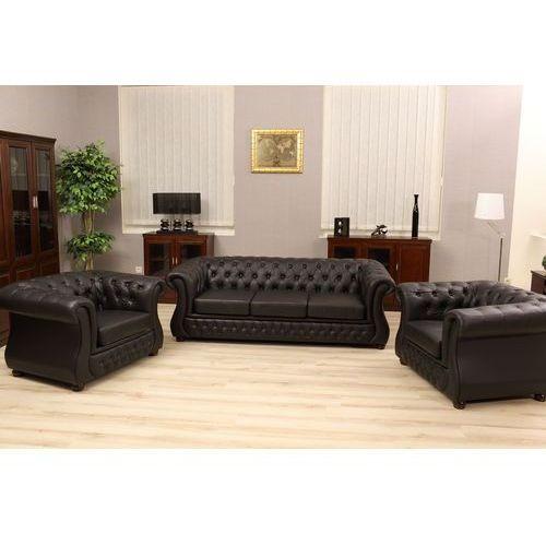 Sofa 3-osobowa chester lux marki Bemondi