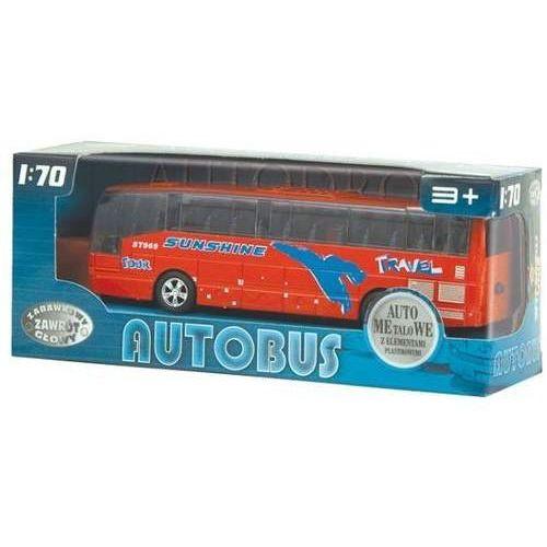 Dromader Autobus metalowy z dźwiękami (5900360002629)