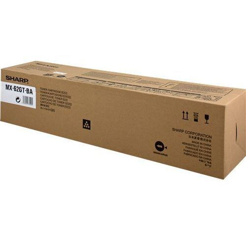 Sharp toner black mx-62gtba, mx62gtba