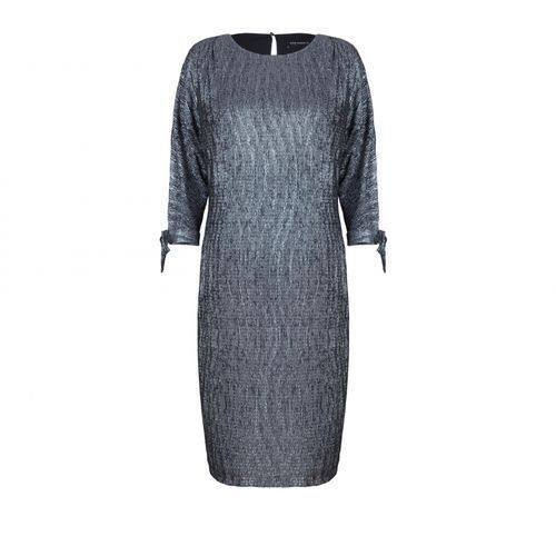 Sukienka ze srebrnym deseniem (kolor: srebrny, rozmiar: 48) marki Vito vergelis