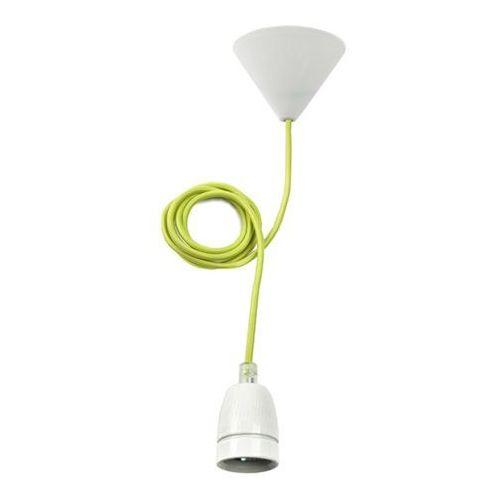 Lampa wisząca Kanlux Tokia 25522 1x60W E27 zielona/biała