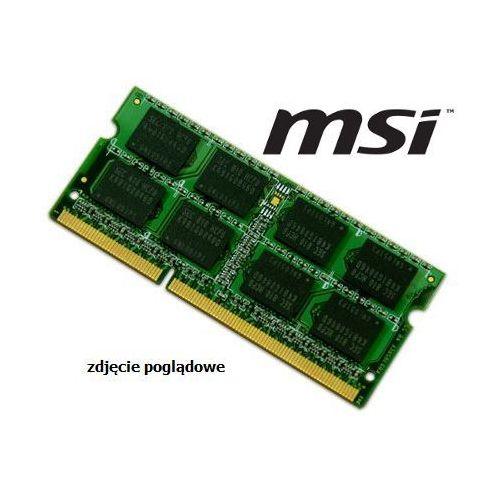 Pamięć ram 4gb ddr3 1333mhz do laptopa msi gt685 marki Msi-odp