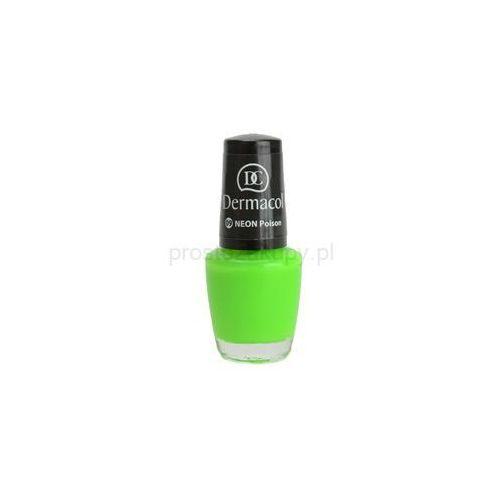 Dermacol  neon glow neonowy lakier do paznokci + do każdego zamówienia upominek.