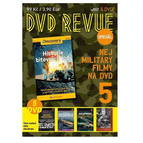 DVD Revue speciál 5 - Nej military filmy na DVD - 5 DVD neuveden