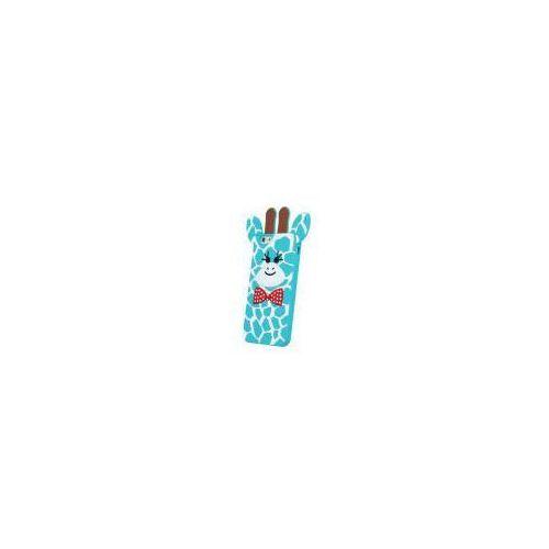 Nakładka animal 3d giraffe 2 apple iphone 5/5s niebieski (gsm025112) darmowy odbiór w 20 miastach!, marki Noname