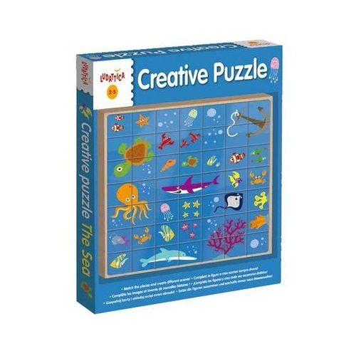 Ludattica Legno Creative Puzzle The Sea