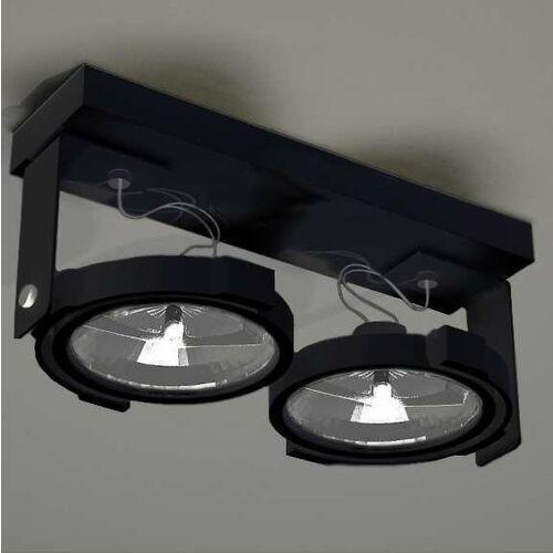 Shilo Plafon lampa sufitowa sakura 2240 reflektorowa oprawa regulowana czarny